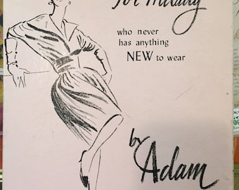 1960s // MILADY BY ADAM // Vintage Leaf Pasties