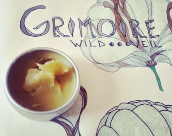 Grimoire • botanical fragrance. Oakmoss for ages. Lush, dark, green. Briny leather lichen. Two varieties of oakmoss, vintage opulence.