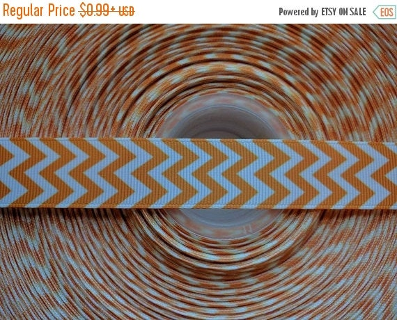 "SUPER SALE ORANGE 7/8"" 22mm Grosgrain Hair Bow Craft Ribbon 782805"