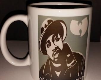 Wu Tang Clan coffee Mug, ODB!  great gift for music lovers