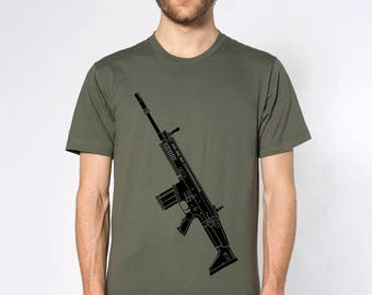 KillerBeeMoto: Limited Release FN SCAR Short or Long Sleeve T-Shirt