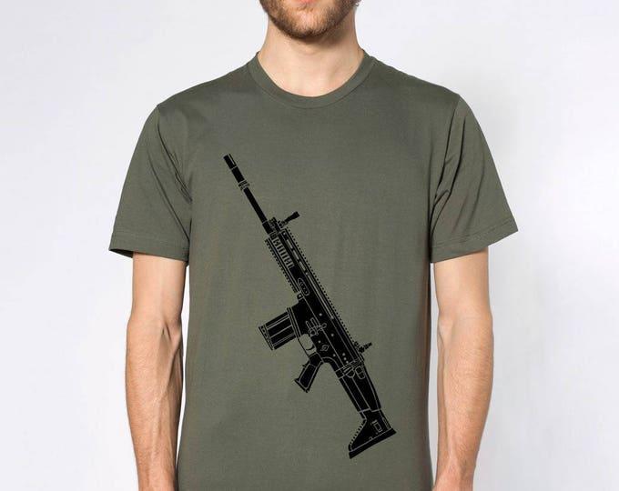 KillerBeeMoto: Limited Release FN SCAR Short or Long Sleeve T-Shirt