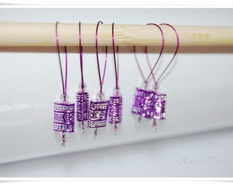 Stitch marker knitting tools set of 6 marker marker snag free marker knitting  tools snagless marker knitting