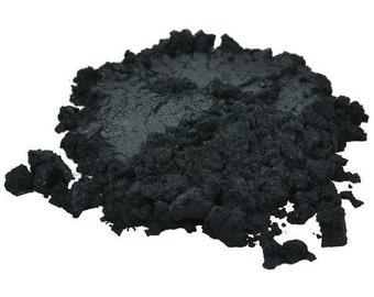 BLACK LUXURY Mica Colorant Pigment Powder Cosmetic Grade Eyeshadow 1 oz, 30 g