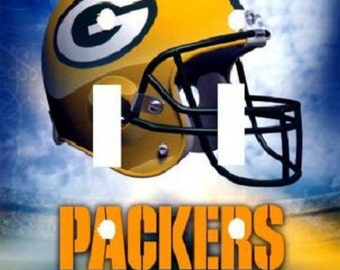 Personalized Green Bay Packers Football Sports Light Switch Plate Cover Home Decor