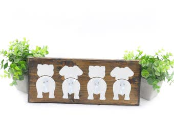 Animal Wall Hooks - Cat, Dog, Cat, Dog