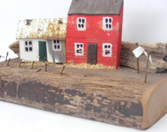MORWELAF, driftwood house hand made in North Wales