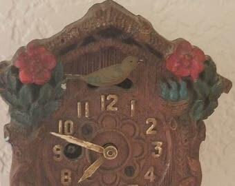 Keebler Cuckcoo Clock; Vintage; Mini Cuckcoo Clock