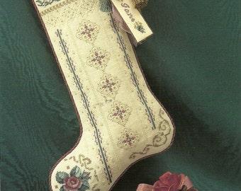 Roses For St. Nicholas Cross Stitch Chart