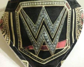 Wrestling   Print Fabric Bandana Bib    Ready To Ship