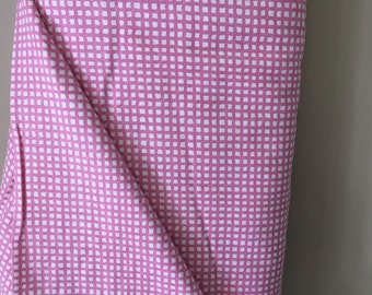 Cozy Flannel Fabric Pink Checks on White by Alpine Fabrics for Riley Blake 100% Cotton Flannel Sold by the Yard