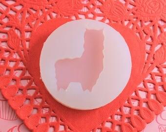 Alpaca Resin mold - clay mold-