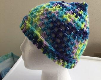 Crochet Multicolor Hat