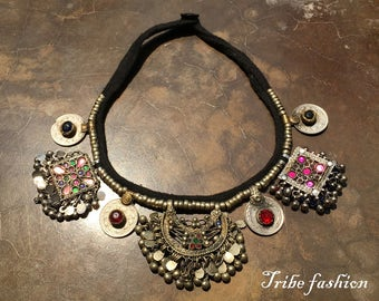 Tribal belly dance, Perfect kuchi tribal necklace