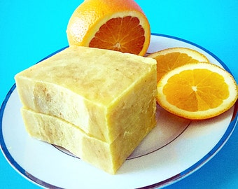 SWEET ORANGE TURMERIC Homemade Natural Citrus Soap Bar, Essential Oil Soap, Handmade Soap, Turmeric Soap, Soap, Organic soap, Scented soap