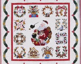 P3 Designs Baltimore Christmas BOM Applique Quilt Pattern Set