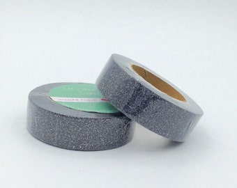 Glitter Washi Tape roll 10m - black - Christmas - Gift - decoration planner supplies bestseller sales scrapbooking design