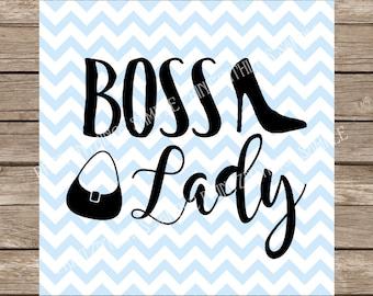 Boss Lady svg Girls svg High Heel svg Ladies svg Work svg Stiletto svg SVG files dxf cutting file silhouette cameo cricut cut file svg