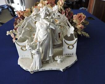 Ackermann & Fritze Porcelain Statue, Simply Stunning