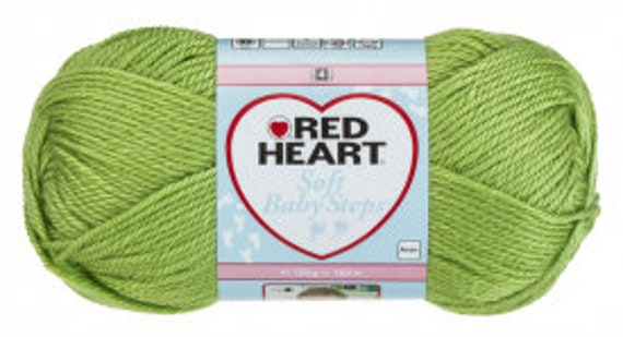 Red Heart Soft Baby Steps - Lime