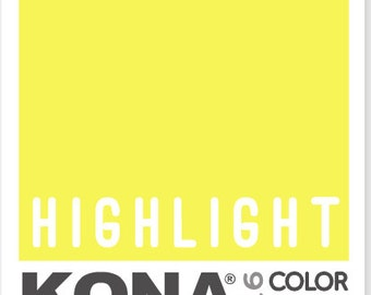 Kona Cotton in Highlight (COTY 2016) - Robert Kaufman (K001-550)