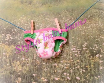 Size SMALL girls training underwear lady bugs and flowers- FREE SHIPPING