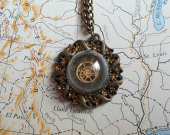 Steampunk Necklace / Steampunk Jewelry