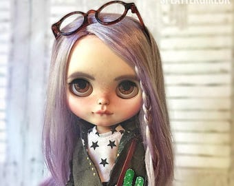 SALE Kara - custom blythe by SplatterGirlUK