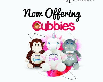 Personalized Cubbie Plush