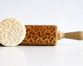 CHERIES Embossing rolling pin, laser engraved rolling pin NEW pattern