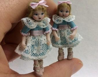 Articulated Mini doll Amanda