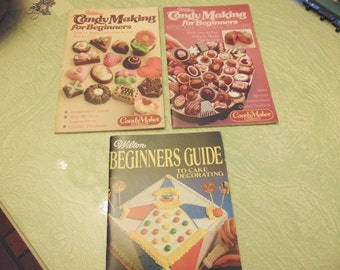 Wilton Cake Decorating Books For Beginners : Wilton cake book Etsy