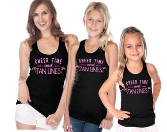 Cheer Time Tan Lines Tank