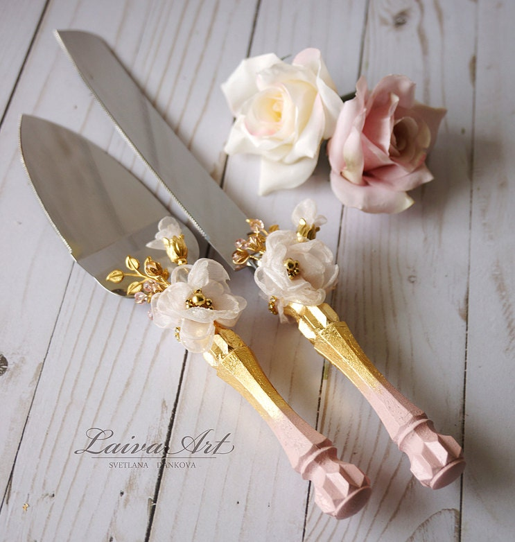 wedding cake servers gold wedding cake server set amp knife cake cutting set wedding 24281