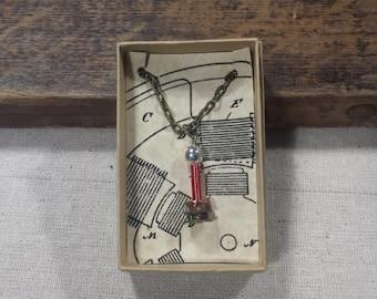 Tiny High Voltage Tesla Coil Necklace (Sphere Toroid)