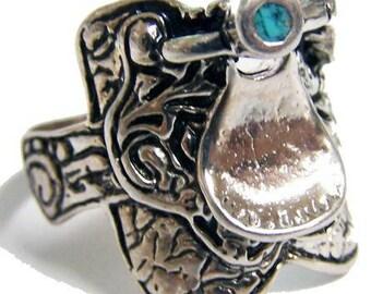Horse Saddle Ring