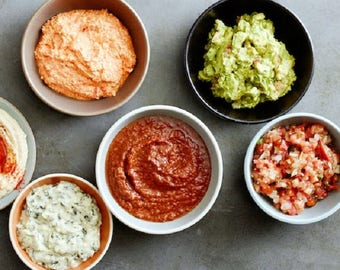 Party Dip Popcorn Bar Seasonings Spice Mixes Chipotle Buttermilk Ranch Cheddar Dill Sriracha Roasted Garlic Salsa con Queso Chef Foodie Gift