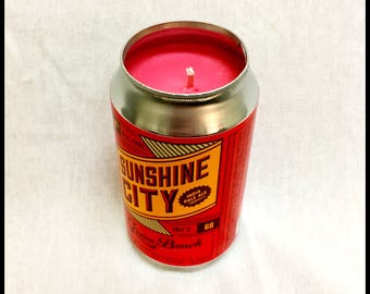 Watermelon Scent Beer Can CANdle