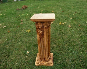 Greek Columns Etsy - Column pedestal plant stand