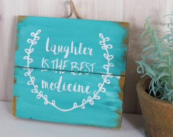 Hand Painted Wood Sign, Custom Sign, Wood Pallet Sign, Country Decor, Home Decor, Kitchen Decor, Rustic Sign, Rustic Decor, Uplifting Gift