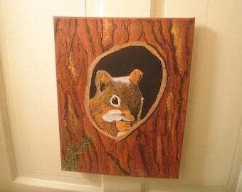 squirrel 4, 11 x 14