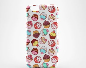 Cupcake Hard case 3D case Apple iPhone 4 5 6 7 Samsung Galaxy S6 S7  #52