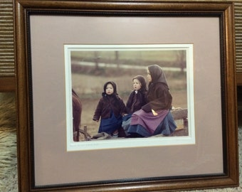 Bill Coleman photography Amish #304 framed ARTISTS PROOF