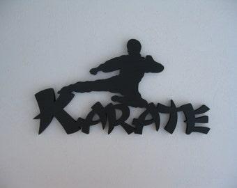 KARATE GUY Martial Arts Wall Hanging - 21.95