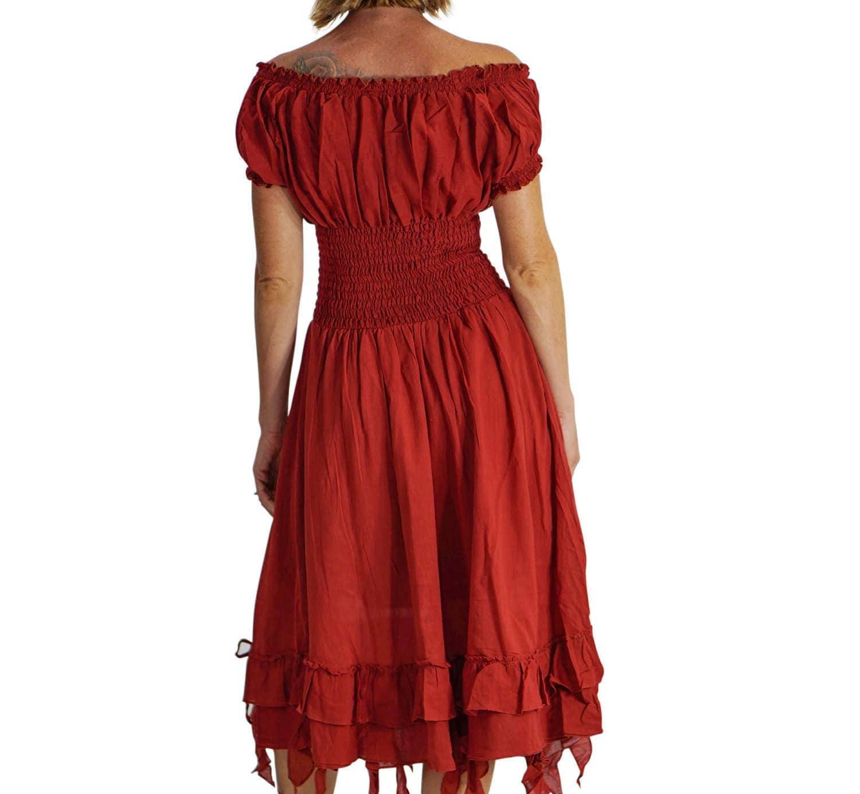 Renaissance Festival Wedding Dresses: FRILL BOTTOM Zootzu Renaissance Festival Dress Medieval