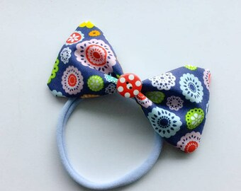 WS Headband - Circles in Blue