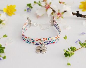 Liberty luck pretty clover bracelet