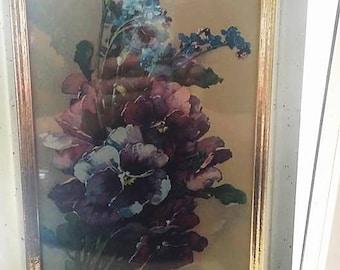 Vintage Flower Print by Turner Wall Art