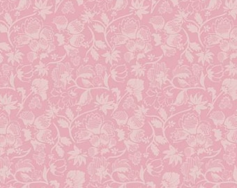 City Style Rose Scroll, City Style cotton fabric