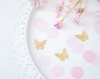 Butterfly confetti - enchanted garden party - garden bridal shower - garden baby shower - butterfly birthday